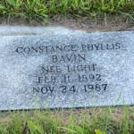 DSC_1334 Mrs Bavin grave