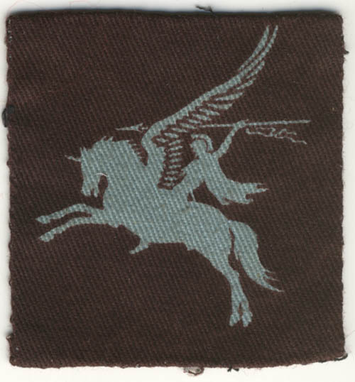 British Airborne Pegasus patch, printed - Left arm
