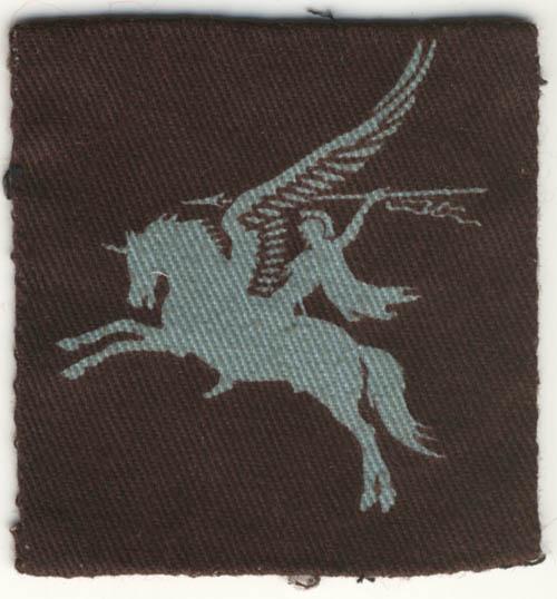 British Airborne Pegasus patch, printed - Left arm