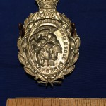 21 SAS Artists' Rifles cap badge  -  back Reproduction possibly