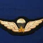 Canadian Parachute badge REPRO front