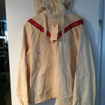 WWII US white ski jacket V ribbons 10 Mtn Div