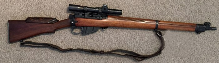 1944 Lee-Enfield No4 MKI (T) BSA sniper rifle -
