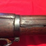 M1903A4 Lower band showing spring catch. Still blued as it left the factory.
