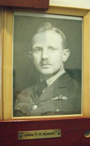 F V HEAKES photo at DHH RCAF AIR RANK OFFICERS