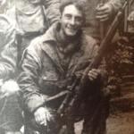 British Airborne snipers Arnhem Sept 1944 - photo found in a chimney - Detail.