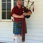 Fort Nisqually Brigade Days 2016 AUG (65) - Colin Barrett, piper.