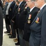 (287) (283) Seaforth Association member on parade - rear rank