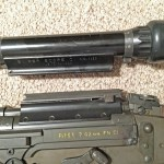 FN C1A1 sniper rifle with Sniper Scope C1 removed.