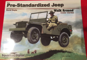 Pre-standardized jeep Walk Around cover