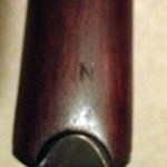 Lee-Enfield No4 MKI star N Butt i.e. Normal length