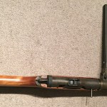 Lanchester Machine Carbine - view from above without bayonet.