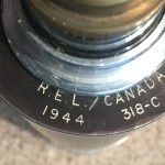 Telescope, Observing, Sniper's C MK. I Serial number 318-C made in 1944. INCOMPLETE scope.