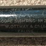 Telescope Sighting No. 22 N MK. I, British, for some field gun.