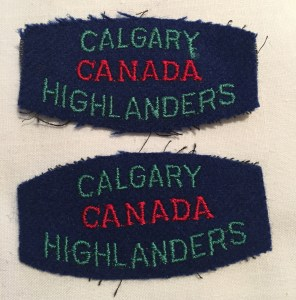 Calgary Highlanders of Canada.