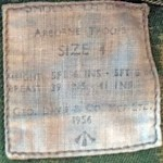 1956 Denison Smock label