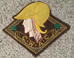 CWAC jacket crest