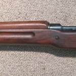 M1917 Winchester left side centre section.