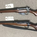 TWO E.A.L. Rifles - Top one is Civilian E.A.L. SN 423x. Bottom one in Military model (RCAF and Canadian Rangers) SN 612x.