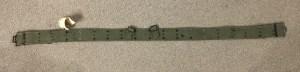 Canadian Pattern 1951 web belt LARGE - front