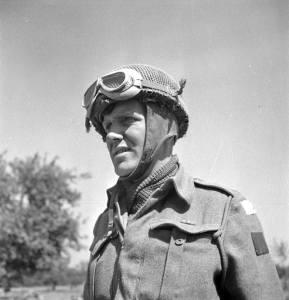 Lieut Geo Galbraith Toronto Scottish Regt Tilly-la-Campagne France 8 Aug 1944