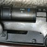 Lee-Enfield No. 4 MK. I T LESS TELESCOPE BSA N31722 28376 mismatched - bracket, NO number.