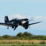 CORSAIR taking off. Erickson Collection BBAS 2018-07-21. Photo by Colin MacGregor Stevens.