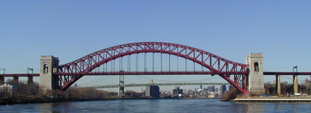 New York City's East River and Hell Gate  (1/6)
