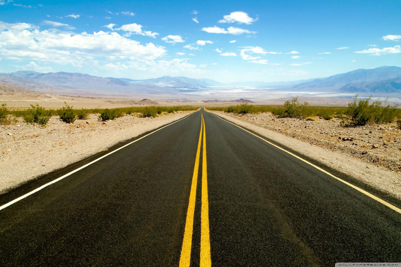 La route de la Death Valley