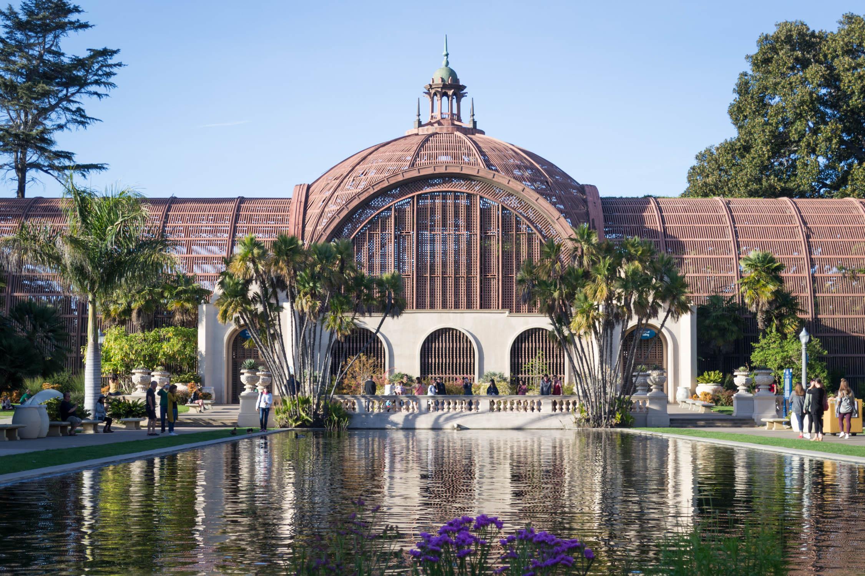 Un des bâtiments du Balboa Park