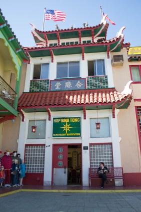 En plein Chinatown, une architecture particulière