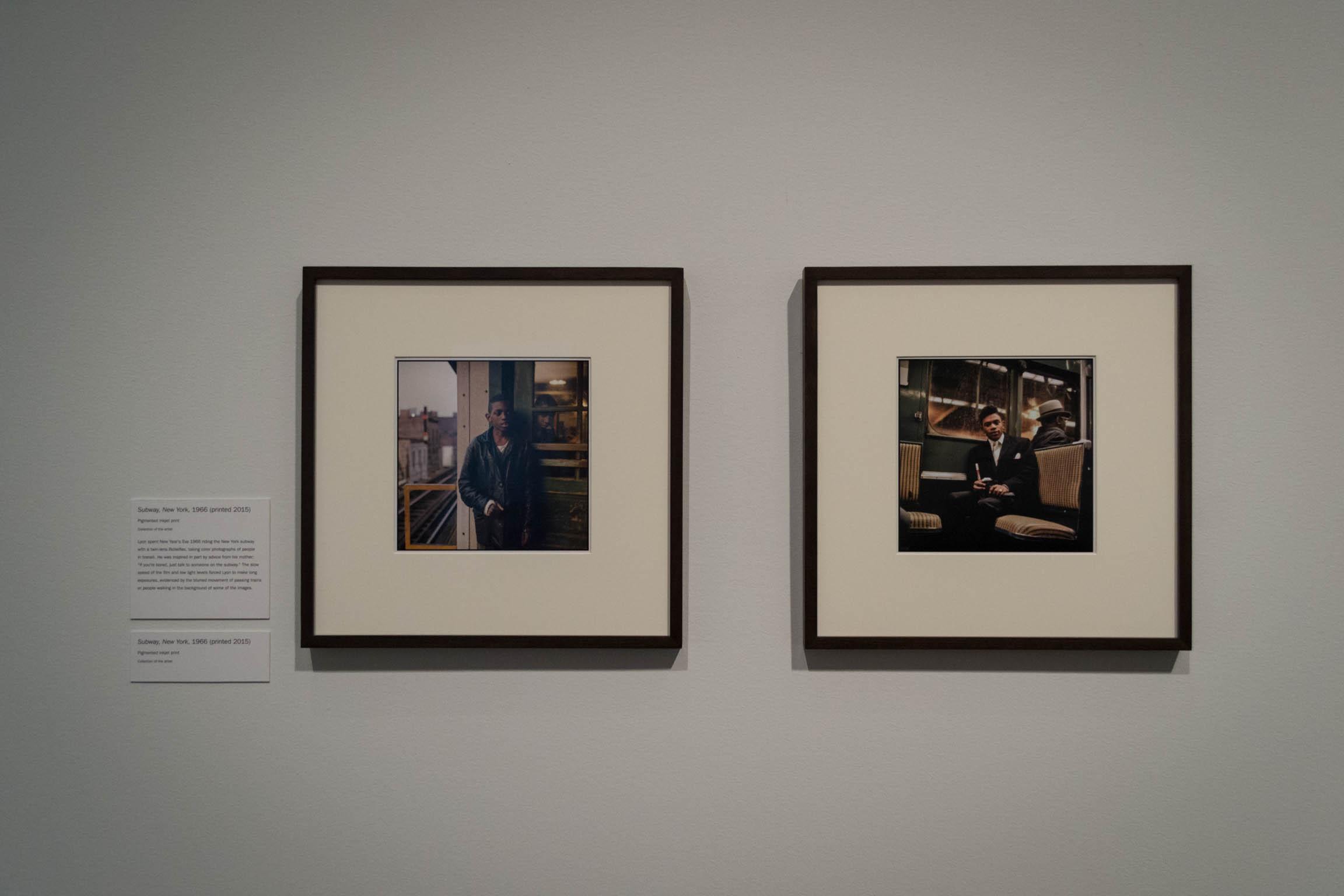 Deux photographies de Danny Lyon
