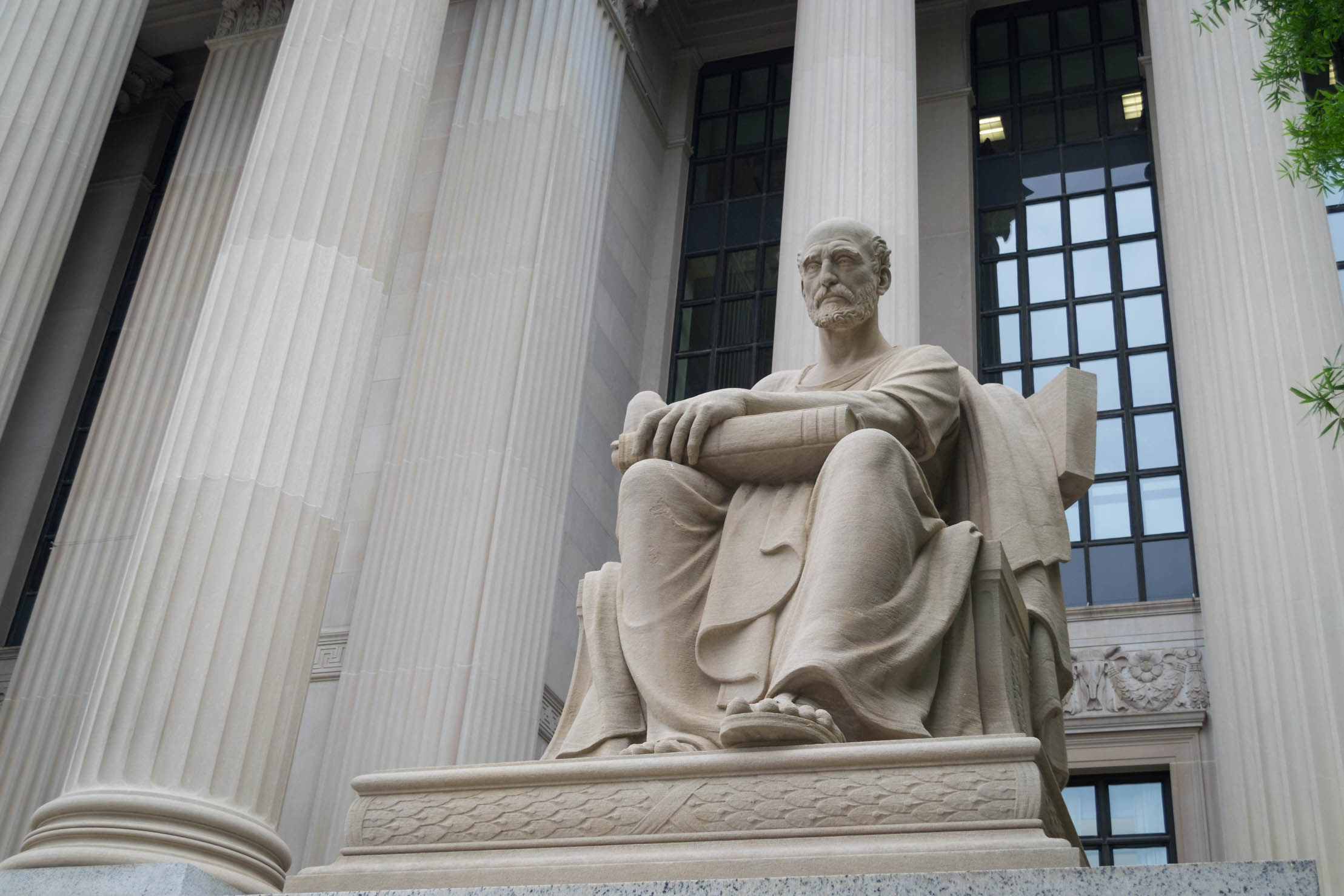 Une des statues du National Archives Museum