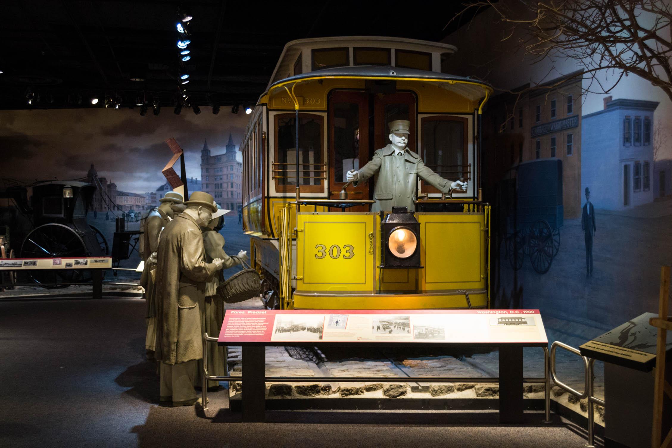 Les transports de l'époque aux Etats-Unis