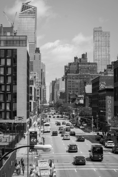 Une rue de New York depuis la High Line
