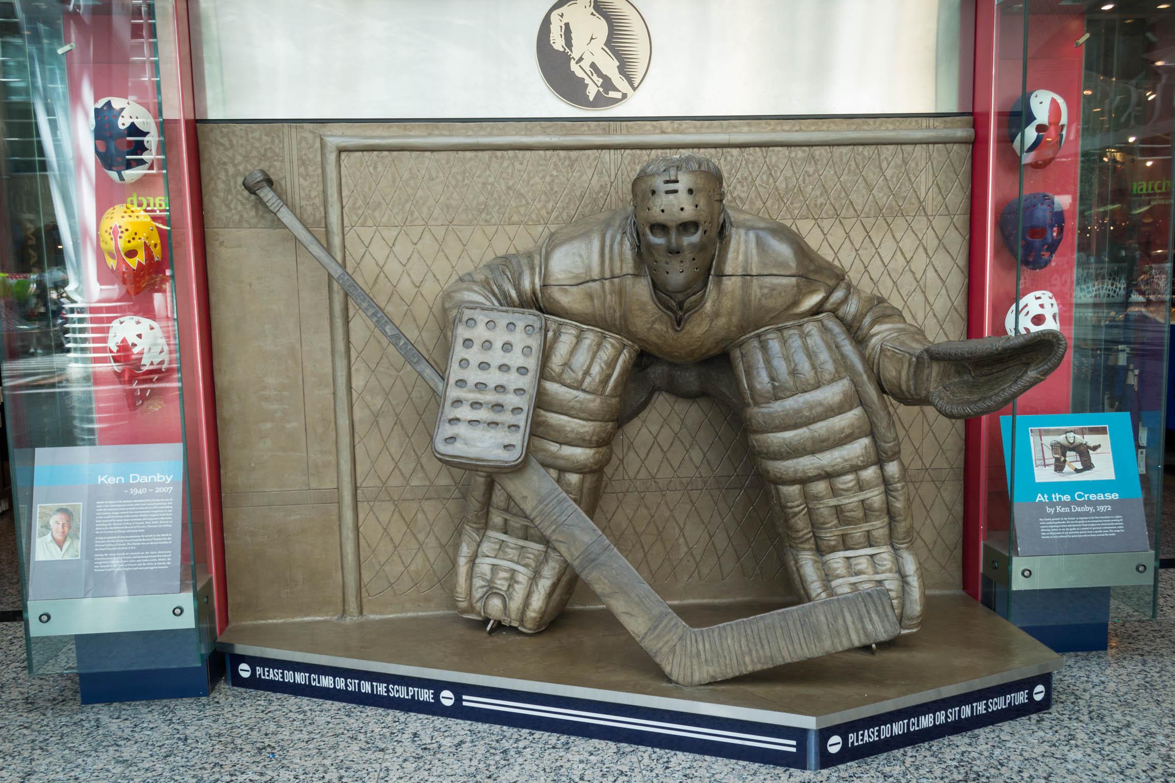 Le Hockey est presque une religion pour les Canadiens