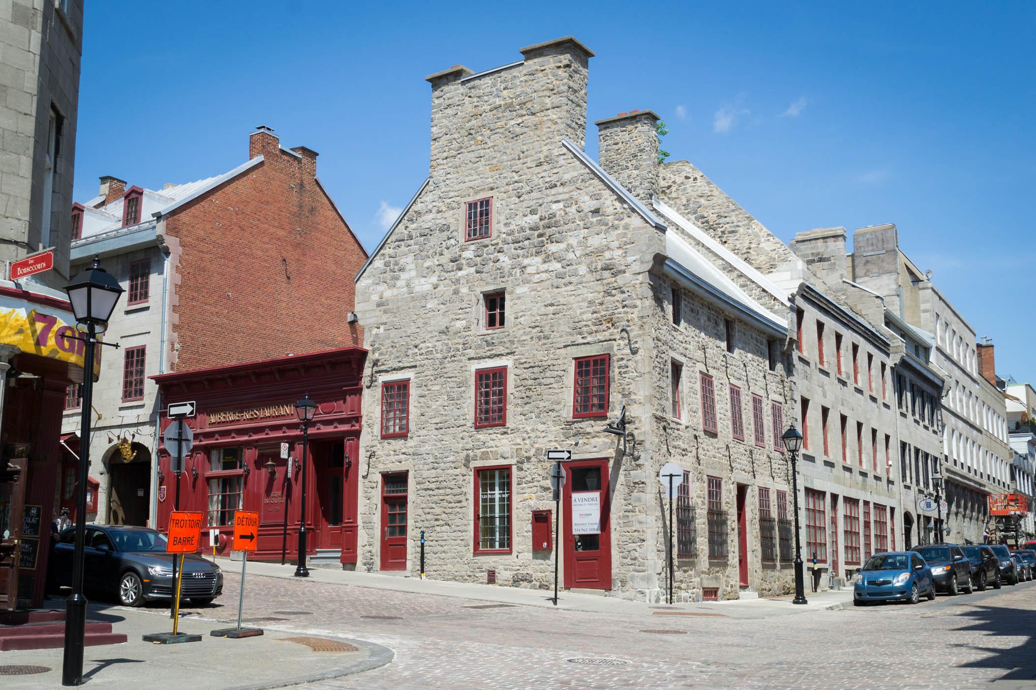 Une maison typique de la vieille ville