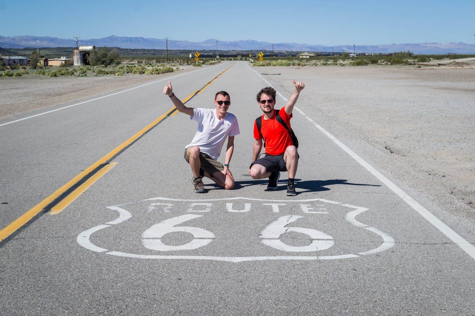 En louant une voiture, vous roulerez sûrement sur la Route 66