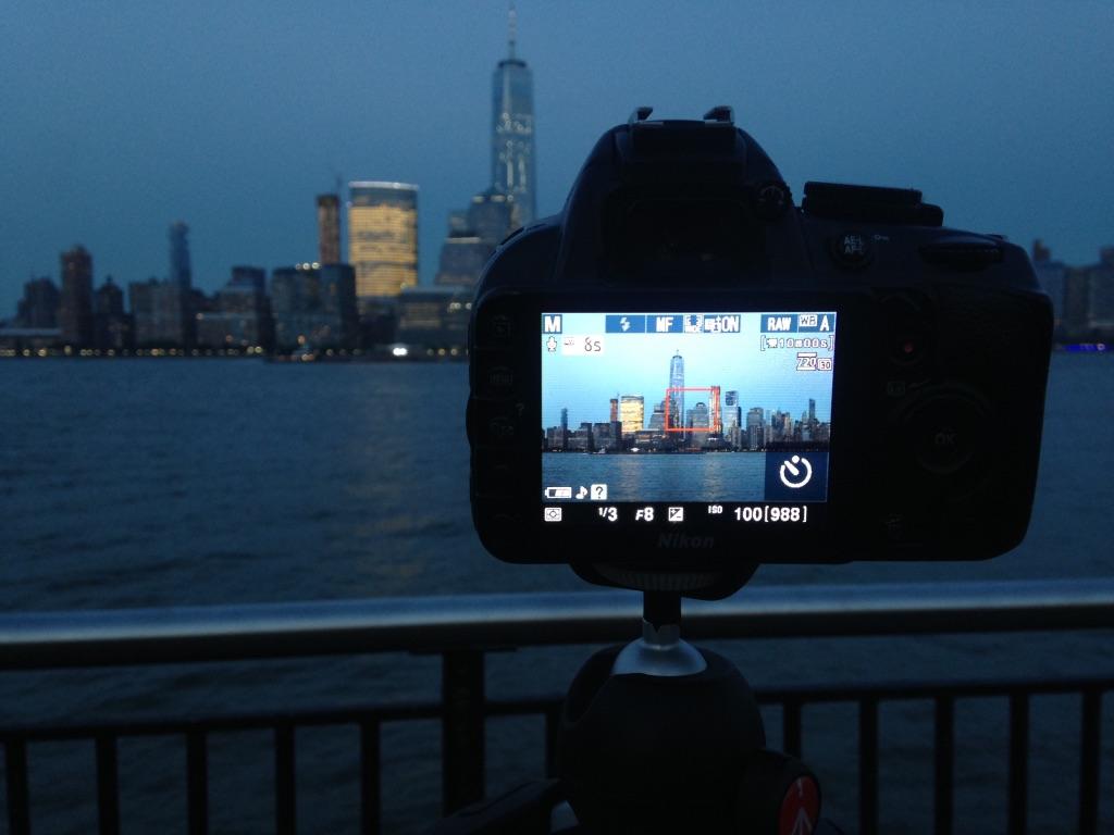 Une des dernières prises de vue de la Skyline à New-York