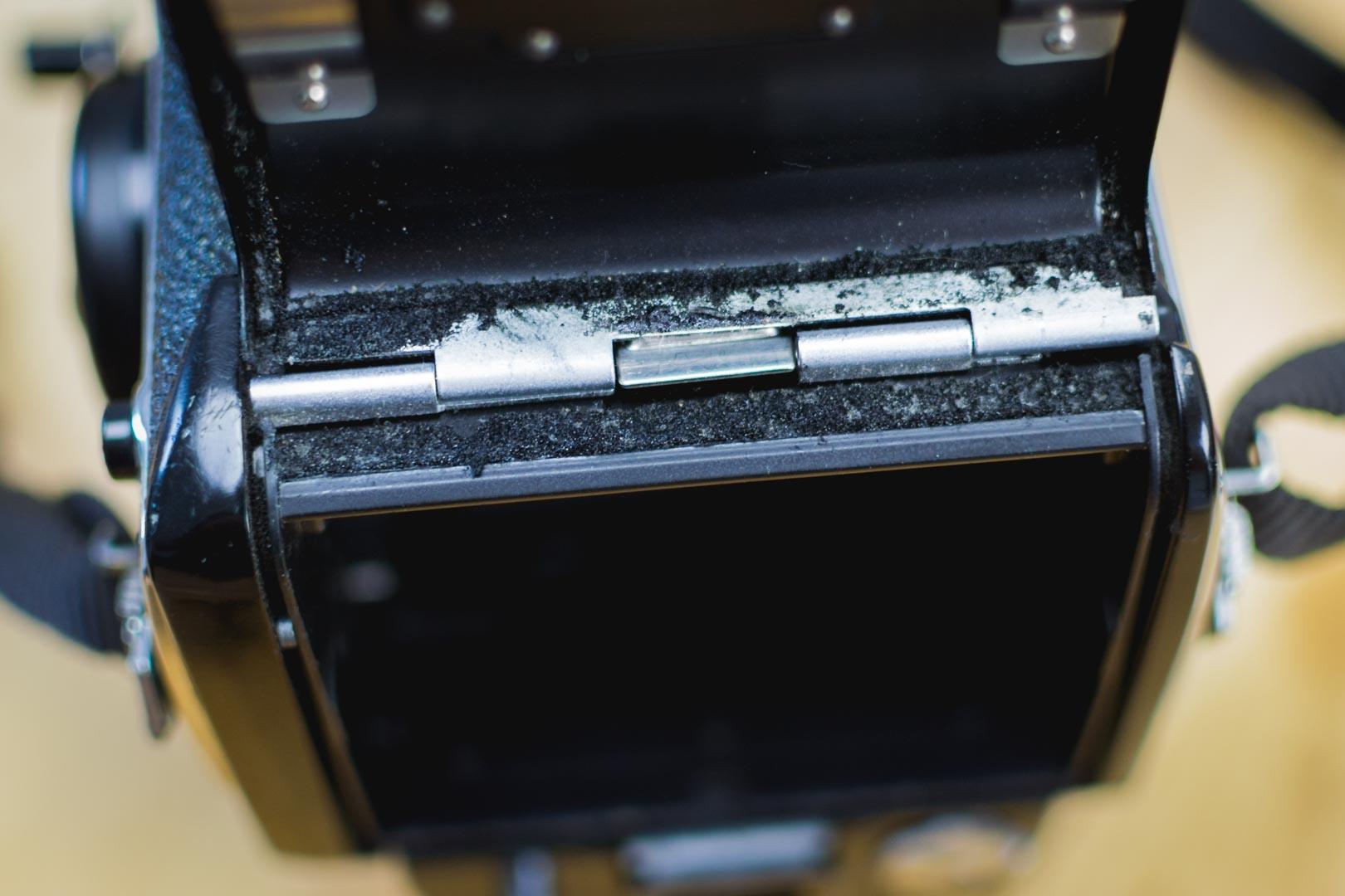 L'état général des mousses de l'appareil avant toute opération