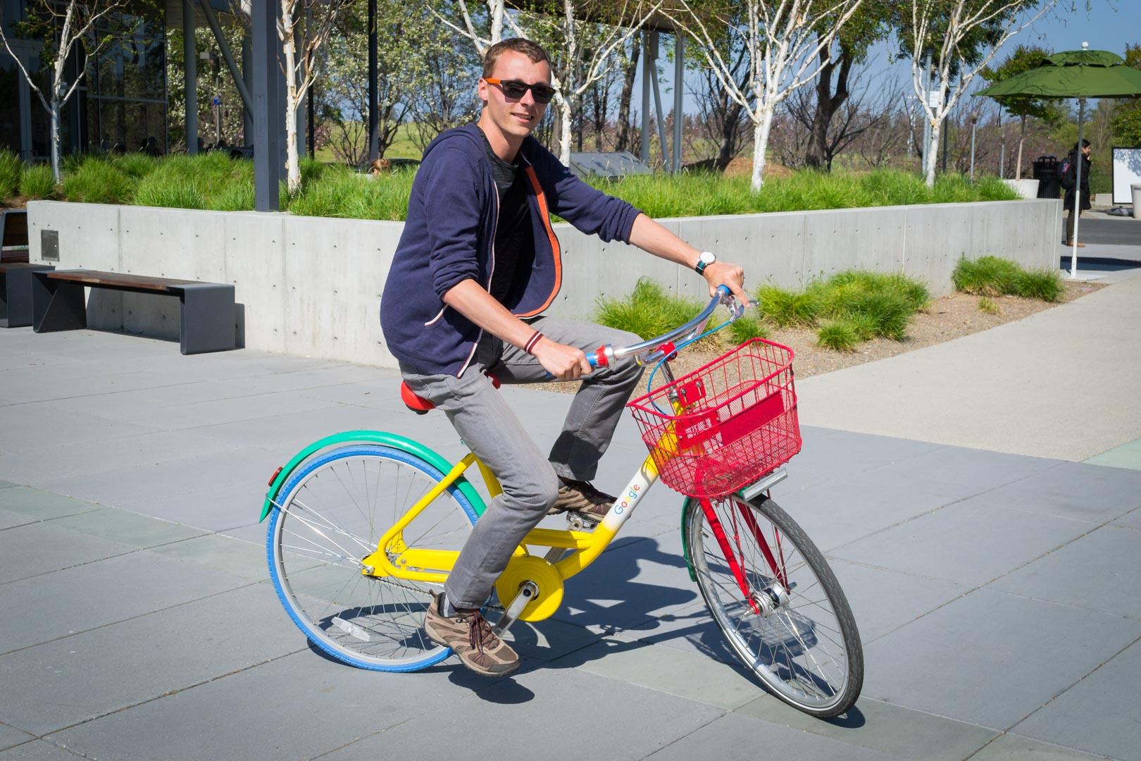 Pédalez sur des vélos Google des plus élégants