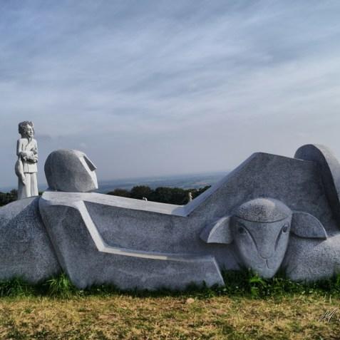 SAINT THURIEN sculpteur : Philippe Leost chantier 2014