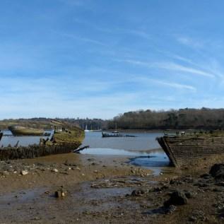 Le cimetière de bateaux de Kerhervy (4)