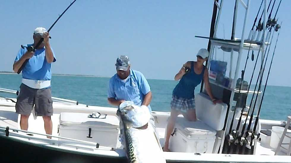 Jimmy, 250 lb. Tarpon, May 21, 2011, Boca Grande Pass, Sanibel & Captiva Islands & Fort Myers Charters & Fishing Guide Service.