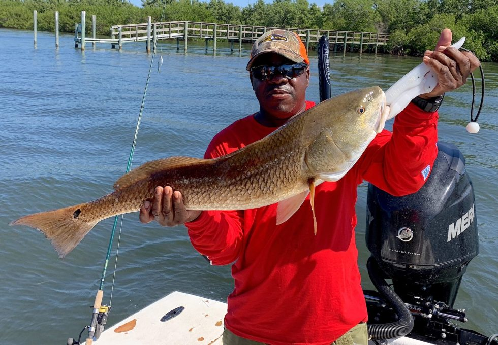 Redfish, Sanibel Island Fishing Charters & Captiva Island Fishing Charters, Sanibel Island, Monday, October 8, 2018.