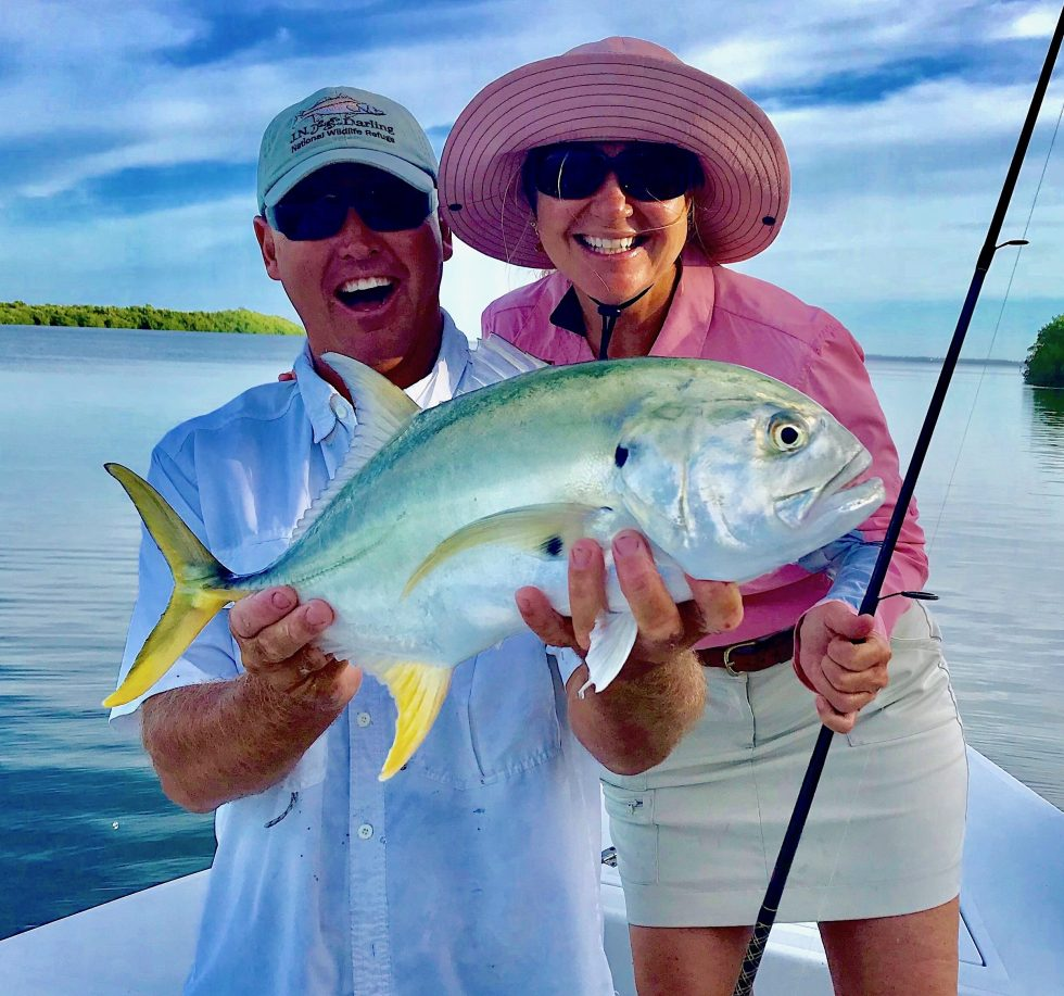 Jack Crevalle, Jimmy Burnsed, Catch & Release, Sanibel Fishing & Captiva Fishing, Sanibel Island, Thursday, November 8, 2018.