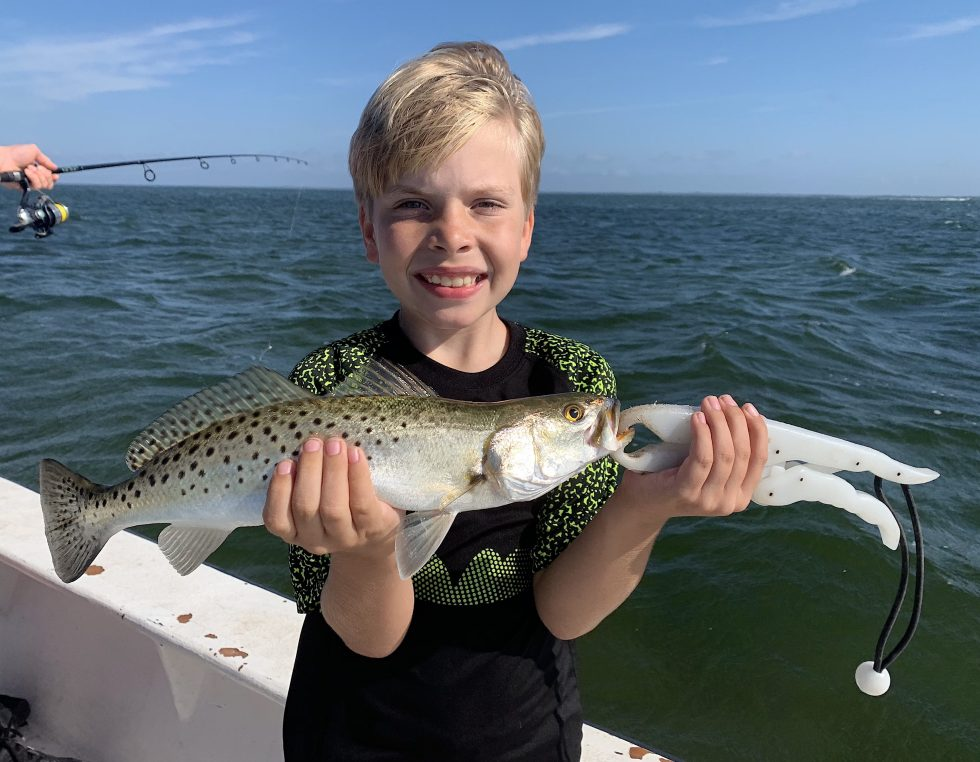 SeaTrout, Sanibel Island Fishing, Catch & Release, Captiva Island, Monday, January 7, 2019.
