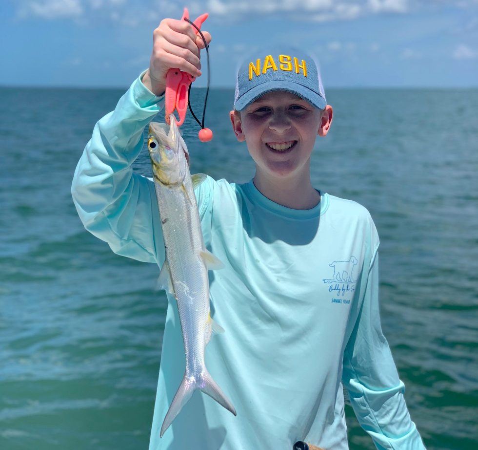 Ladyfish, Sanibel Island Fishing, Catch & Release, Captiva Island, Saturday, April 6, 2019.