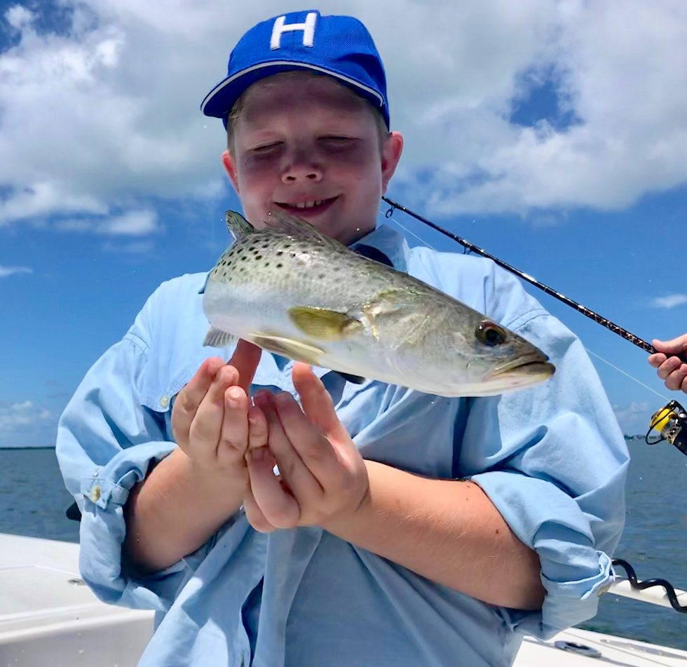 SeaTrout, Sanibel Island Fishing, Catch & Release, Captiva Island, Monday, July 1, 2019.