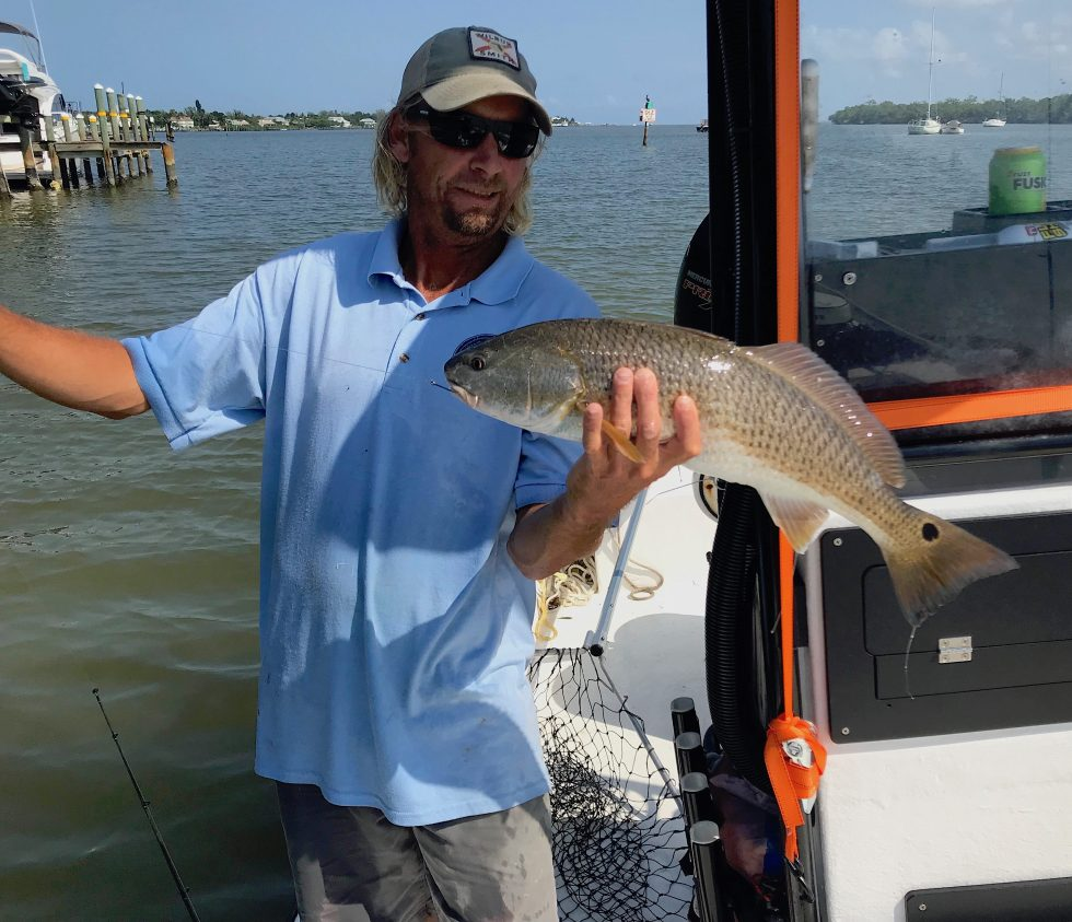 Redfish, Sanibel Island Fishing, Catch & Release, Captiva Island, Friday, September 20, 2019.